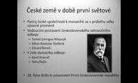 České země v době první světové války, I. odboj