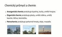 Chemický průmysl ČR