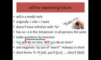 Future forms: will