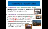 Past simple and continuous