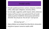Modal verbs - should, must, have to, mustn't, don't have to