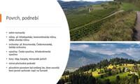 Hory a slunce – střední a jižní Evropa