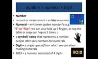 Cardinal numbers (základní číslovky)