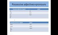 Possessive's