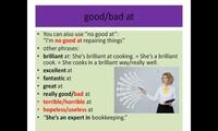 Adjectives: qualities