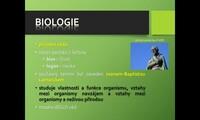 Biologické vědy a metody