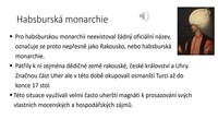 České země a habsburská monarchie po třicetileté válce