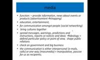 Media - internet, TV, etc.