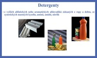 Detergenty a pesticidy, insekticidy