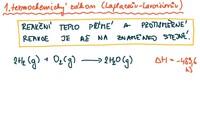 Energetické změny vchemických reakcích, základy termochemie