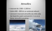 Atmosféra Země a její složení