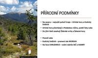 Kraj Vysočina a Pardubický kraj