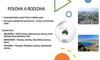 Austrálie a Oceánie - přírodní podmínky