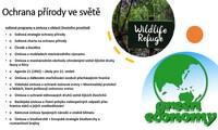 Úsilí o ochranu a rozvoj životního prostředí