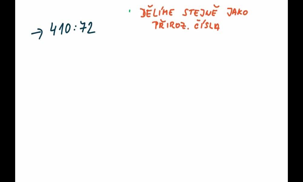5. náhled výukového kurzu Dělení desetinných čísel navzájem