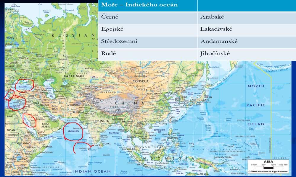 4. náhled výukového kurzu Asie - vodstvo