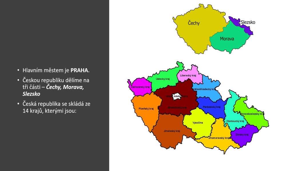 2. náhled výukového kurzu Česká republika a Praha