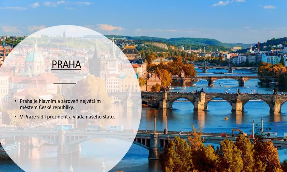 4. náhled výukového kurzu Česká republika a Praha