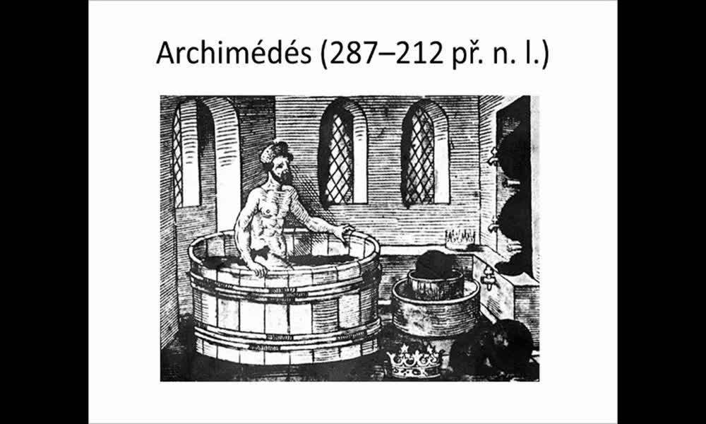 4. náhled výukového kurzu Archimédův zákon (Zdeněk R.)