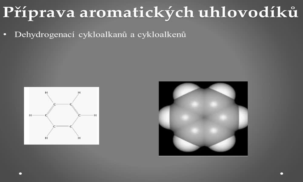 5. náhled výukového kurzu Aromatické uhlovodíky