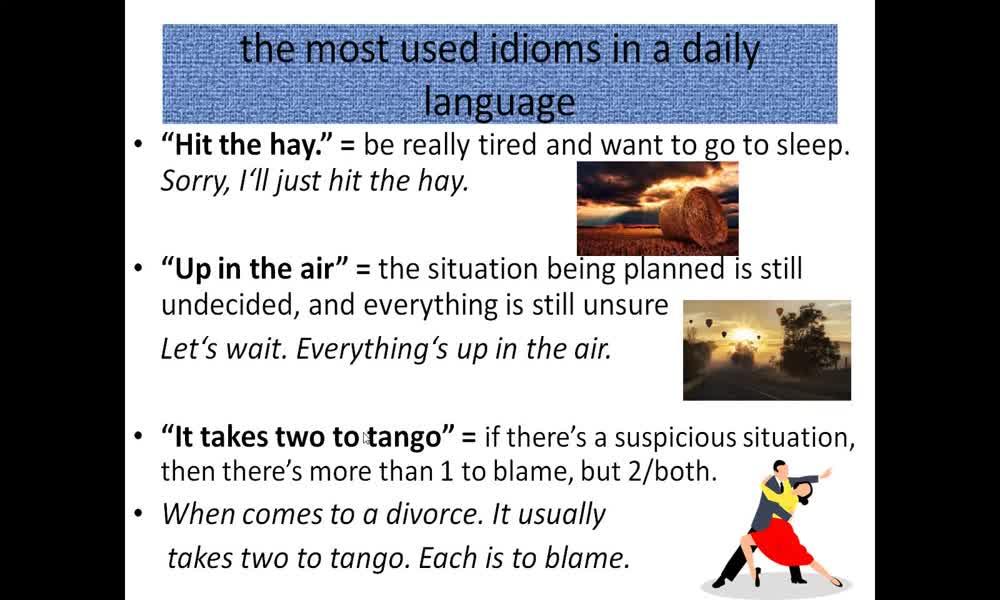 3. náhled výukového kurzu Collocation: word pairs