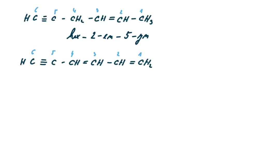 4. náhled výukového kurzu Alkyny a cykloalkyny  - názvosloví