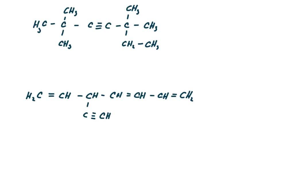 5. náhled výukového kurzu Alkyny a cykloalkyny  - názvosloví