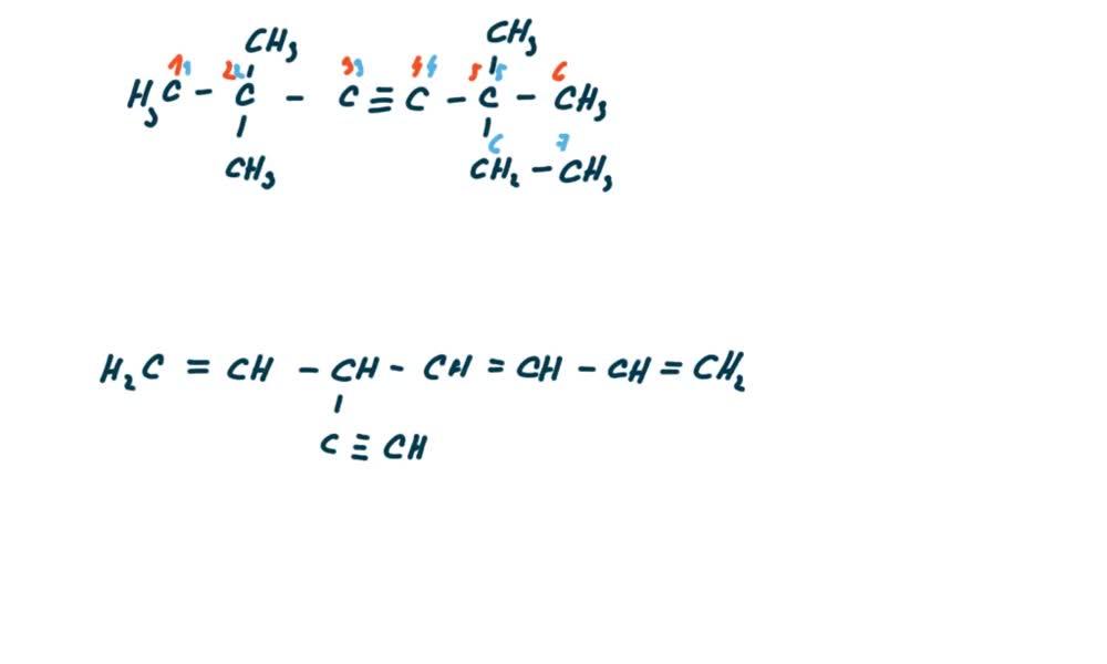 6. náhled výukového kurzu Alkyny a cykloalkyny  - názvosloví