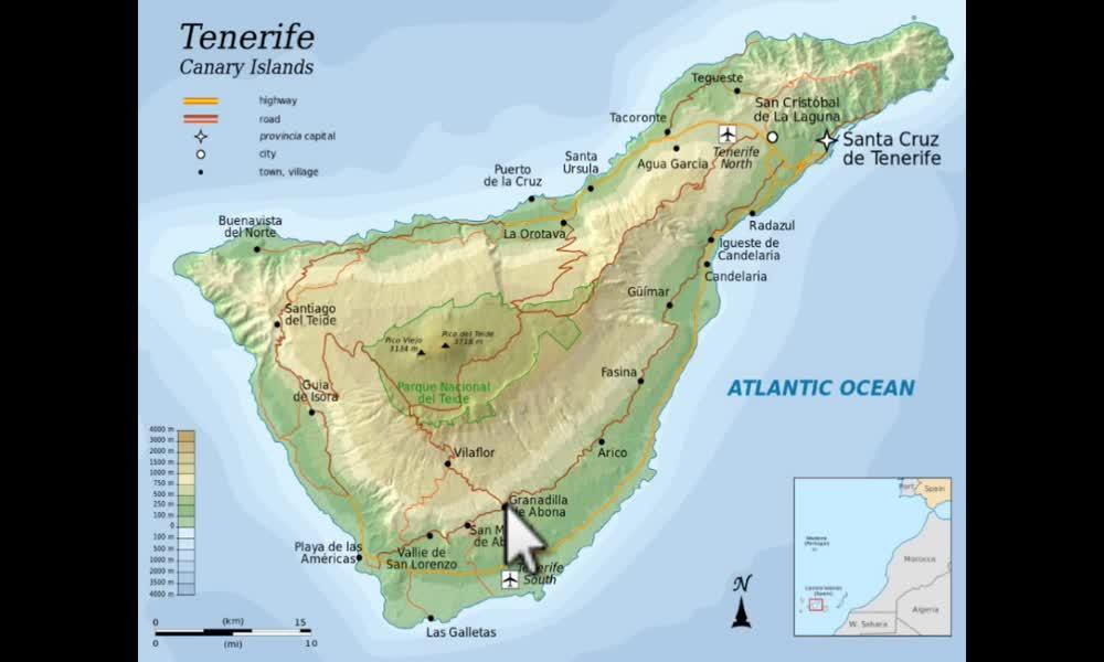 3. náhled výukového kurzu Geografický a kartografický vyjadřovací jazyk
