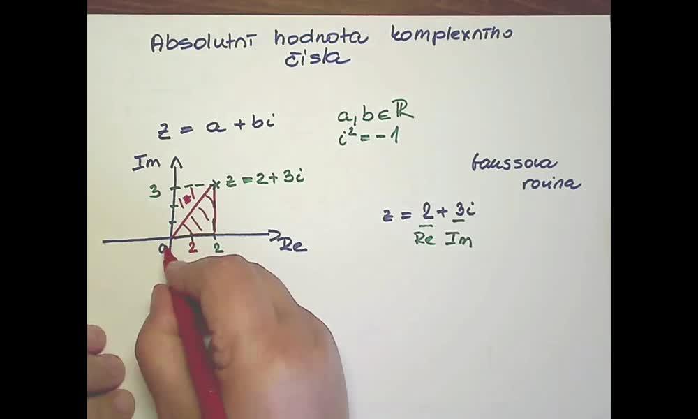 3. náhled výukového kurzu Goniometrický tvar komplexního čísla