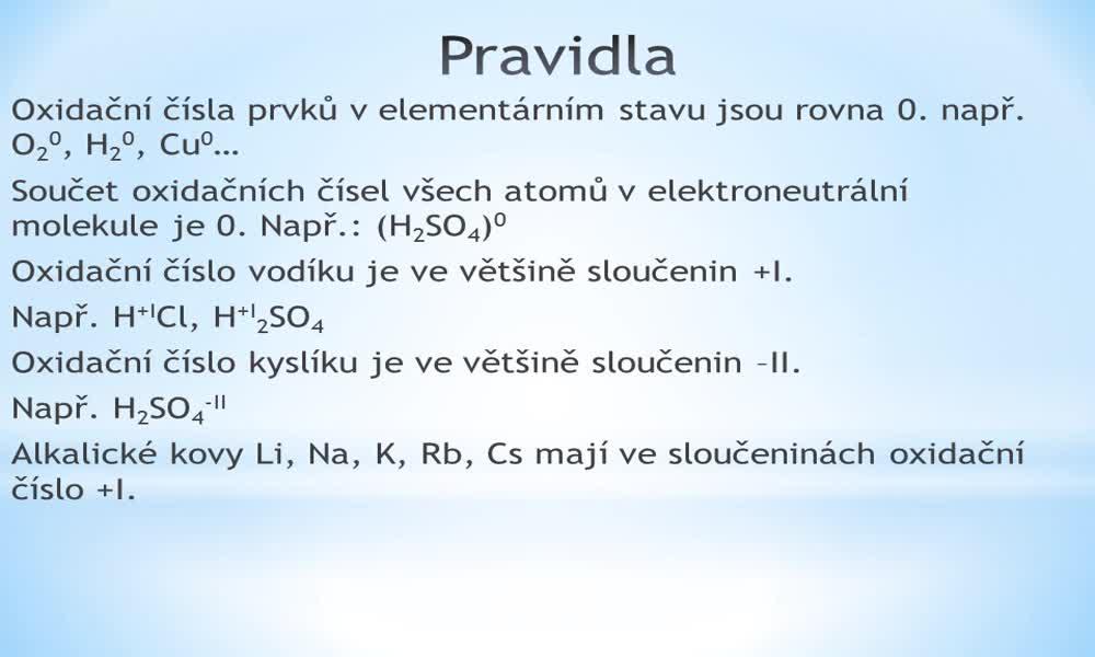 4. náhled výukového kurzu Názvosloví anorganických sloučenin