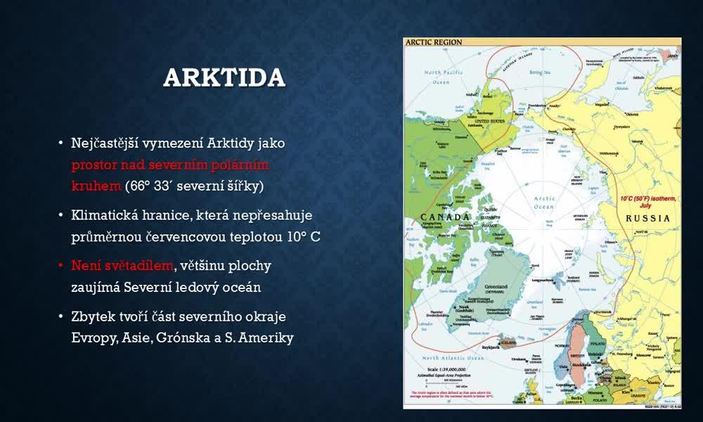 4. náhled výukového kurzu Arktida a Antarktida