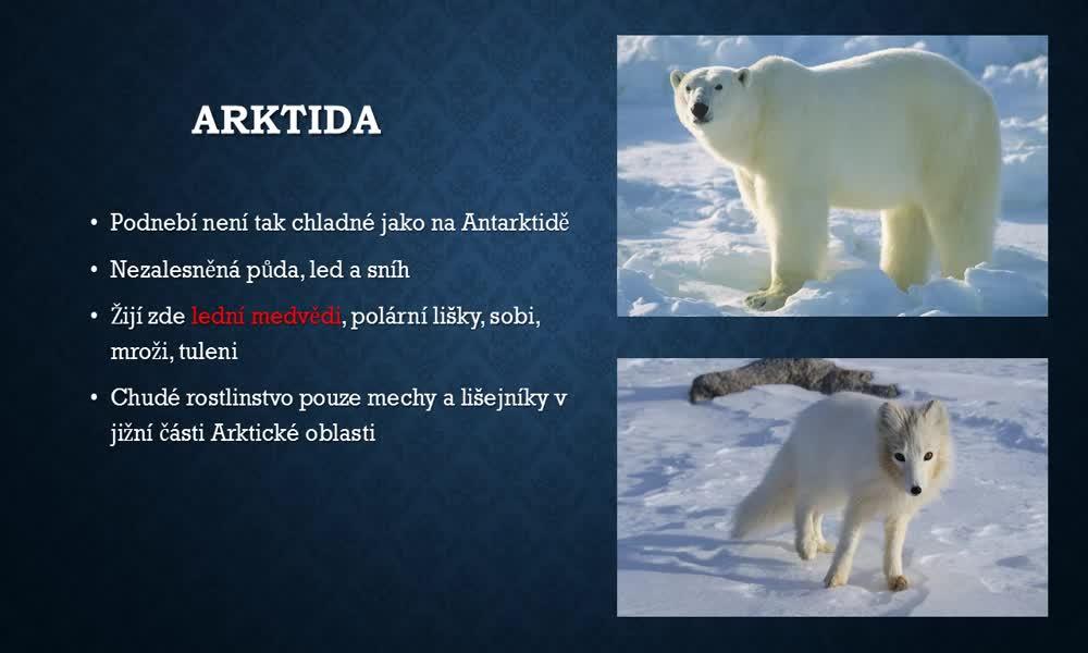 5. náhled výukového kurzu Arktida a Antarktida
