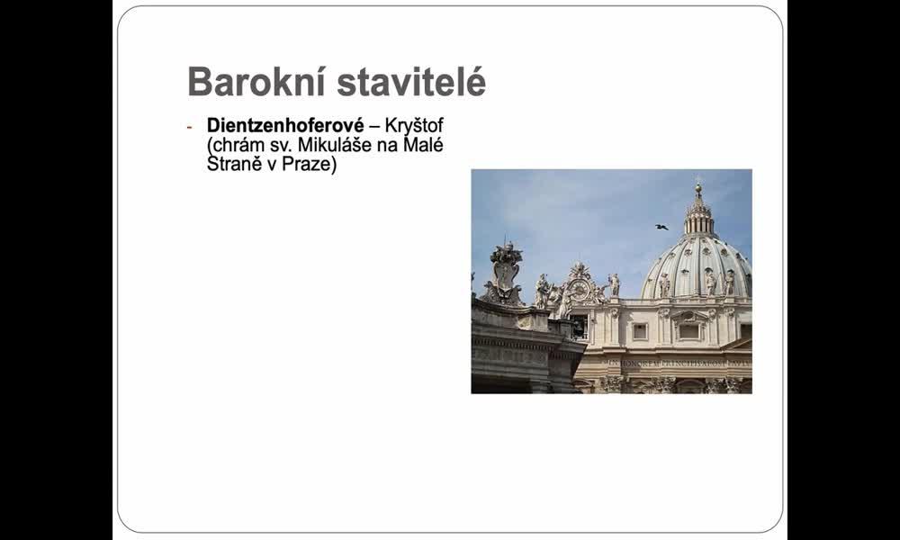 5. náhled výukového kurzu Barokní kultura